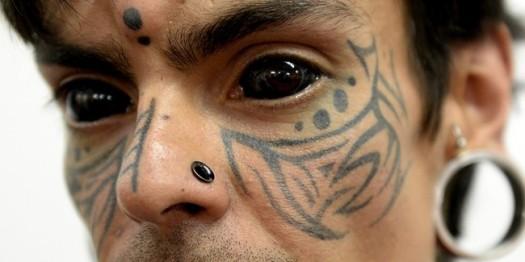 Tatouage Dans Le Blanc De L Oeil Tatouage